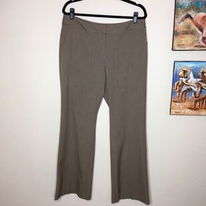Laundry by Shelli Segal Brown Wide Legs Pants 12